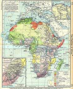 maps of colonial Africa - Alternate History Discussion Board Vintage Maps, Antique Maps, African Map, African History, By Any Means Necessary, Map Globe, Alternate History, Wall Maps, Historical Maps