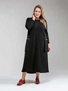 Коллекция женской одежды больших размеров российского бренда ee-style зима  2018-19 bbf2bb2b275