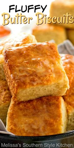 Biscuit Bread, Biscuit Recipe, Southern Recipes, Sweet Recipes, Bread Recipes, Cooking Recipes, Savoury Recipes, Homemade Buttermilk, Buttery Biscuits