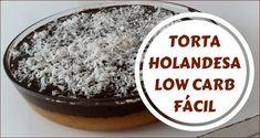 Torta holandesa low carb fácil