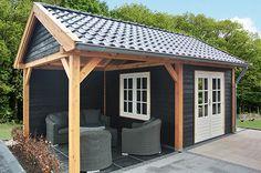 Image result for tuinhuis met veranda