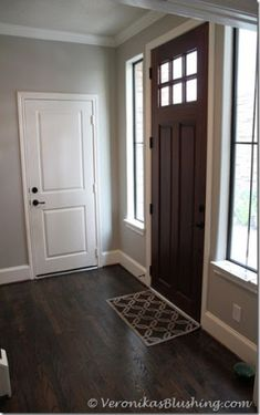 Silver Gray Walls And Dark Brown Floors Color Palettes