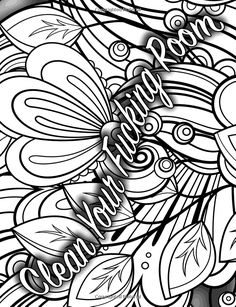 The PMS Coloring Book: A Stress Relieving Adult Coloring Book (White Edition)(PMS Relief, Coloring Books for Adults, Swear Word Coloring Book) (Adult . Space Coloring Pages, Love Coloring Pages, Printable Adult Coloring Pages, Coloring Books, Coloring Sheets, Swearing Coloring Book, Swear Word Coloring Book, Secret Boards, Sharpies