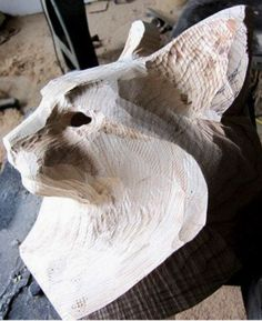 Lynx Mask Wood sculpture by Jason Tennant -You can find Lynx and more on our website.Lynx Mask Wood sculpture by Jason Tennant - Wood Carving Designs, Wood Carving Patterns, Wood Carving Art, Stone Carving, Wood Art, Wood Carvings, Art Sculpture En Bois, Whittling, Animal Sculptures