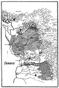 Map of Fionavar by artist Sue Reynolds, for the novels by Guy Gavriel Kay Fantasy Map Creator, World Of Fantasy, Imaginary Maps, Fantasy Literature, Summer Trees, Best Novels, Cartography, Book Club Books, Horror