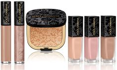I just acquired the lace lipgloss in Shimmer. I LOVE IT.  Dolce & Gabbana Makeup Lace Collection