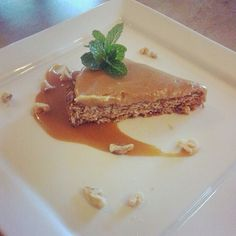 Ginger and Oat Meal Slice with Butter Scotch Caramel Saurce  cook.to.the.rescue@gmail.com