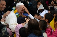 """※ Pope Francis With His Devout Followers of the Catholic Faith While on His Trip to Brazil -=- Truly """"The Pope of The People"""" <3"""