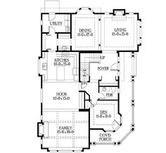 Stately Hilltop Home Plan - 23154JD | Craftsman, Northwest, Narrow Lot, Photo Gallery, 2nd Floor Master Suite, Bonus Room, CAD Available, Den-Office-Library-Study, Drive Under Garage, PDF, Sloping Lot | Architectural Designs