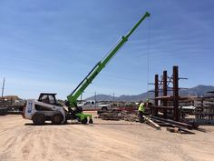 SkidCrane Lives: How the family of a former contractor is bringing his skid steer crane attachment to market…