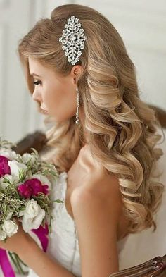 romantic bridal hairstyles 30  www.viraltimez.com