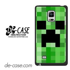 Minecraft Creeper Wallpaper By Lynchmob10 09 DEAL-7269 Samsung Phonecase Cover For Samsung Galaxy Note Edge