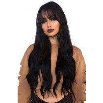 Hair straight 2019 gorgeous Long straight wave Hair With Bangs 360 Lace frontal Wigs,Indian vi. 2019 gorgeous Long straight wave Hair With Bangs 360 Lace frontal Wigs,Indian virgin Hair Thick Density Black Ponytail Hairstyles, Frontal Hairstyles, Indian Hairstyles, Weave Hairstyles, Straight Hairstyles, Bangs Hairstyle, Trendy Hairstyles, Remy Hair Wigs, Human Hair Lace Wigs