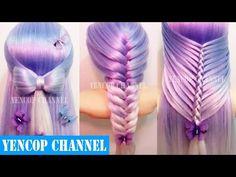 Como Hacer Peinados Faciles y Bonitos & Trenzas Faciles y Bonitas (P9)   Peinado 2016 Yencop - YouTube