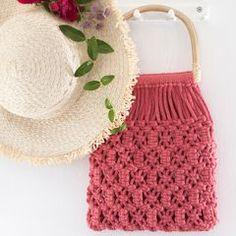 Macrame Bag, Macrame Design, Handmade Bags, Fun Crafts, Straw Bag, Creative, Inspiration, Accessories, Style