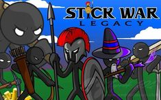 Stick War: Legacy Mod APK For Android. Stick War: Legacy (MOD, Unlimited Money/Gems) - Another is no less famous and popular game from the series. Stick Figure Games, Game Stick, Stick Figures, Android, Stickman Legends, Stickman Games, Real Hack, Free Gems, Strategy Games