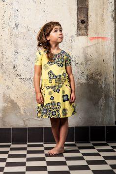 Dazu gibt es auch das passende Kleid für Mama