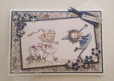 Kirstens Hobbyblogg: Enda et bursdagskort!
