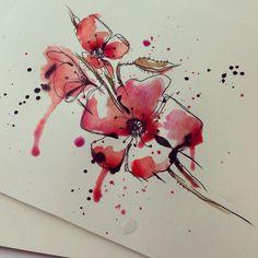 tattoo poppy small - Google keresés