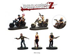 The 'Biker Gang' Expansion Set Contains parts to make 6 gangers including 2 bikes plus Gang Leader model with pillion rider (and lots of weapon options!)