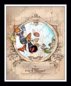 Fairies and Butterflies Print Vintage Sheet Music by ArtsyPumpkin