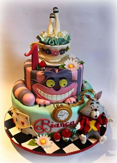Alice in Wonderland by Sabrina Di Clemente