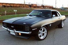 1969 Camaro SS - Matte Black
