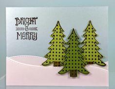 Hampton Art Blog: Two tree themed cards by designer Joy Ott