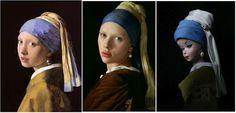 A Estrambólica Arte = ciência + tecnologia + arte: Pintura, cinema, barbie e a Moça com brinco de pér...