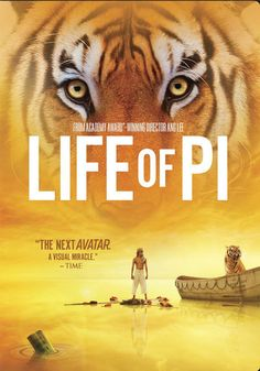 Life of Pi: Movie. Read the book, so I can't resist seeing the movie, especially after it won so many awards!