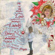Tree layout using My Frozen Heart (Collection) by The Urban Fairy