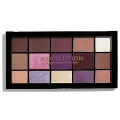 Revolution Makeup Reloaded Palette Visionary g Eye Shadow Makeup Guide, Makeup Blog, Makeup Dupes, Makeup Kit, Eyeshadow Makeup, Makeup Brushes, Makeup Products, Beauty Dupes, Drugstore Beauty