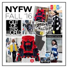 """""""Day Two: The Best NYFW Street Style"""" by ewa-naukowicz-wojcik ❤ liked on Polyvore featuring Madewell, Pierre Hardy, Fendi, women's clothing, women, female, woman, misses, juniors and NYFW"""