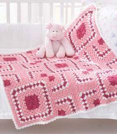 *Free Crochet Pattern: Puzzle Blocks Baby Blanket - Media - Crochet Me