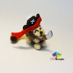 Pirate theme pack: Example of one of the theme packs you can add to accessorize a miniature :)