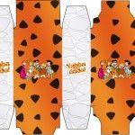 Baixe as imagens do novo kit digital completo para festa Os Flintstones