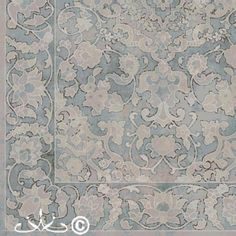 We #love this section of tonal Persian #design from our new portfolio!