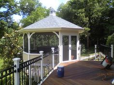 Screened Gazebo Design Ideas, Pictures, Remodel, and Decor - page 4