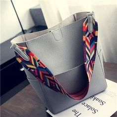 Luxury Women Bags Designer Brand Famous Shoulder Handbag Female Vintage Satchel Bag PU Leather Gray Crossbody Shoulder Bags