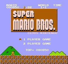 Super Mario Bros. #RetroGaming