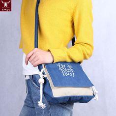 High Quality Women Girls Brand Designer Messenger Bags Canvas Dongba Letters Beaded Small Crossbody Shoulder Bag Bolsa Feminina www.bernysjewels.com #bernysjewels #jewels #jewelry #nice #bags