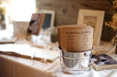 Red Barn Venue Dallas Texas Wedding Program