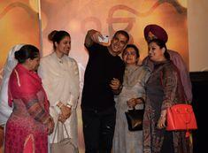 Trailer launch of film Nanak shah fakir by Akshay Kumar at pvr juhu in mumbai