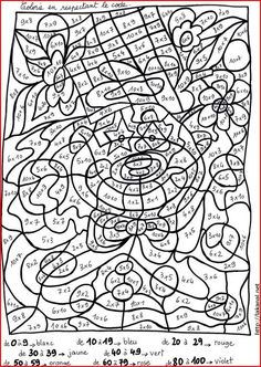 Home Decorating Style 2020 for Coloriage Magique Cp Maths, you can see Coloriage Magique Cp Maths and more pictures for Home Interior Designing 2020 at Coloriage Kids. Montessori Math, Homeschool Math, Math Worksheets, Math Resources, Math Games, Math Activities, Adult Coloring Pages, Coloring Books, Colouring