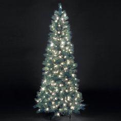 7ft Pre-Lit Blue Duchess Artificial #Christmas #Tree - #Xmas #Decoration