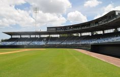 Fort Lauderdale Stadium. Spring training home of the New York Yankees from 1962-1995.