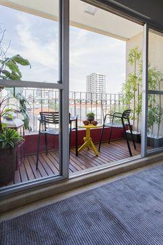 Lopez interiores の トロピカルな バルコニー&ベランダ&テラス Garden