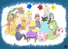 Super Mario Bros Games, Nintendo Super Smash Bros, Super Mario Art, Super Mario Brothers, Metroid, Luigi And Daisy, Mario Fan Art, Peach Mario, Princesa Peach