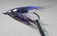 Teal and Purple Spey - Salmon and Steelhead Fly