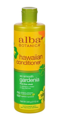 Alba Botanica Hawaiian Hair Conditioner Gardenia Hydrating 12 Fl Oz
